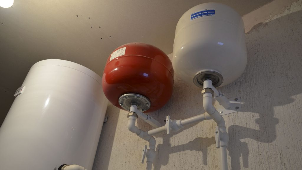 Один из примеров вида отопления в доме